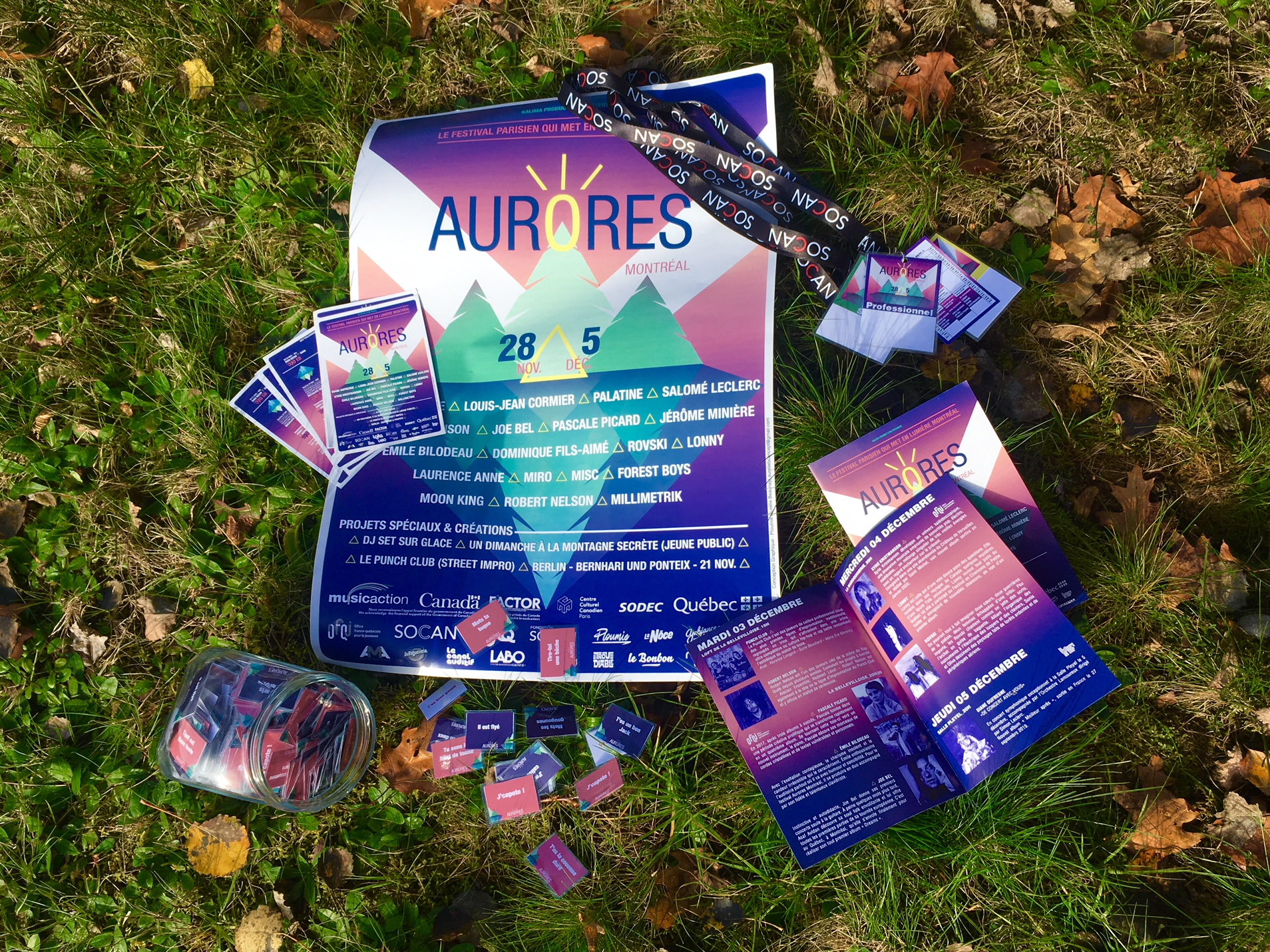Aurores Montréal - Supports de communication