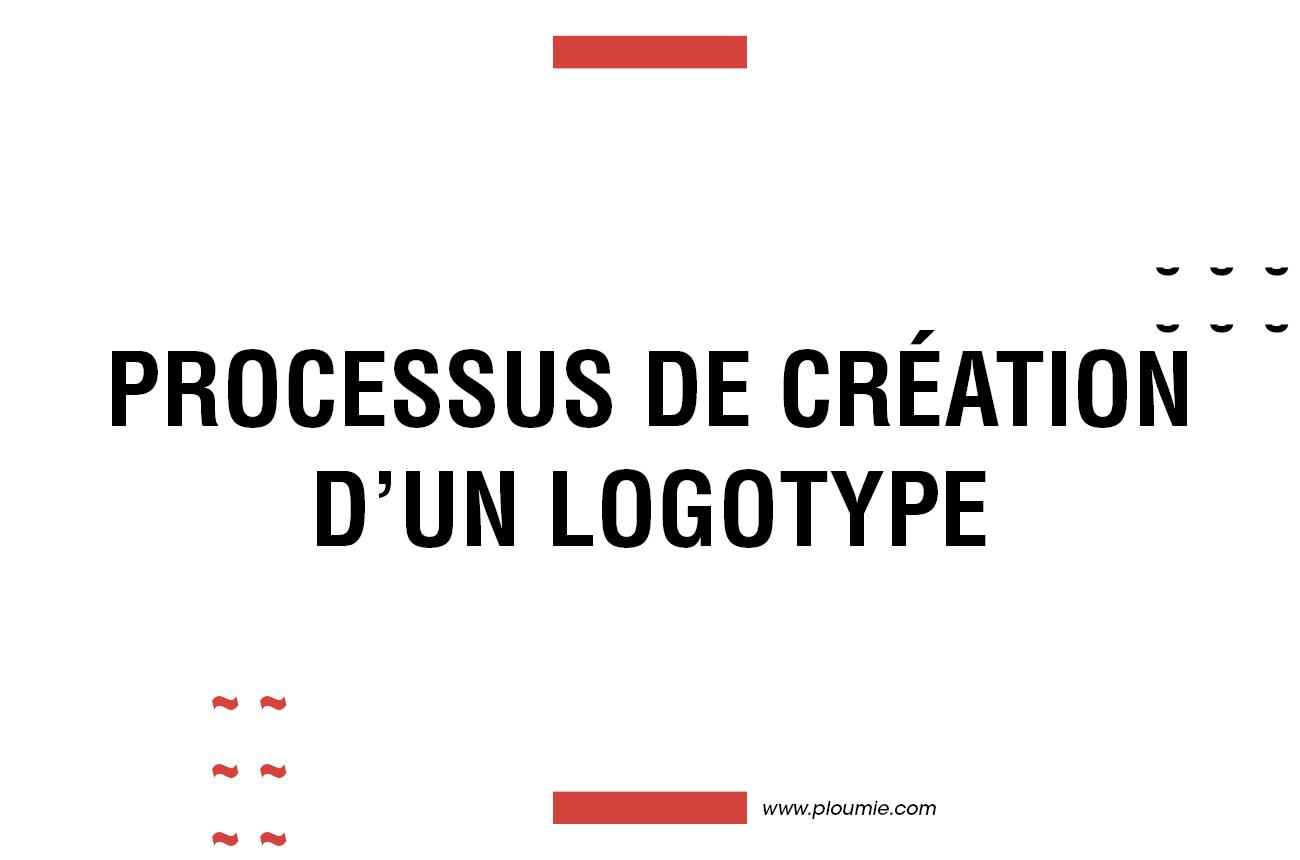 Bannière processus création d'un Logotype