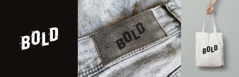 Bold est le logotype d'une enseigne de streetwear masculin